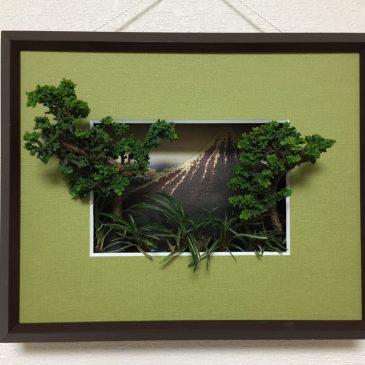 「浮世絵盆栽」を試作しました!