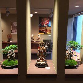イスムのインテリア仏像で「仏像盆栽」を制作!表参道店で展示中です